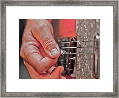 Grunge Framed Print by Annette Hugen