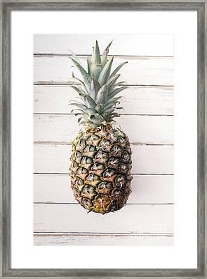 Pineapple Framed Print by Viktor Pravdica