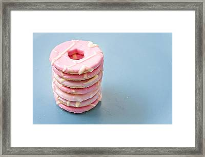 Pink Cookies Framed Print by Tom Gowanlock