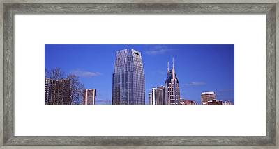 Pinnacle At Symphony Place Framed Print by Panoramic Images