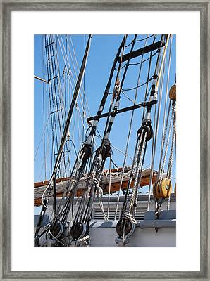 Framed Print featuring the photograph Pirate Ship  by Ramona Whiteaker