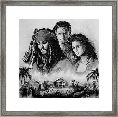 Pirates Framed Print by Andrew Read