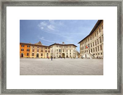 Pisa Framed Print by Joana Kruse