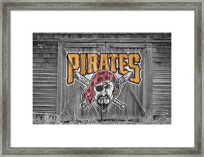 Pittsburgh Pirates Framed Print by Joe Hamilton