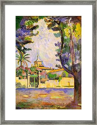 Place Des Lices St Tropez Framed Print