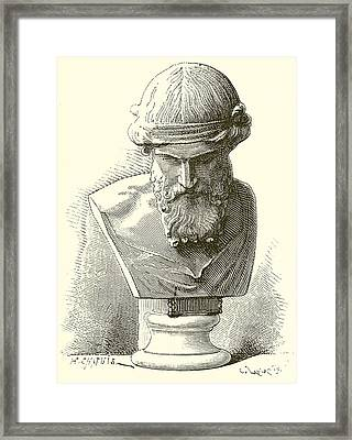 Plato  Framed Print by English School