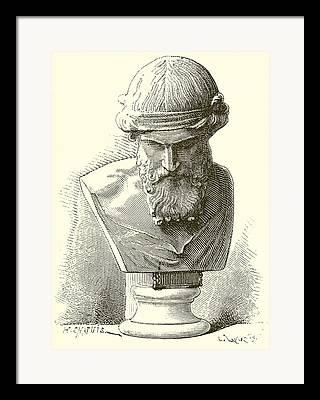 Rome Drawings Framed Prints