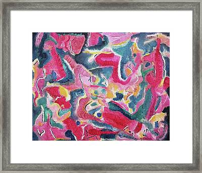 Playtime Framed Print by Suzanne  Marie Leclair