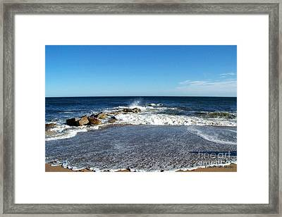 Framed Print featuring the photograph Plum Island Landscape by Eunice Miller