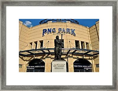 Pnc Park Framed Print by Frozen in Time Fine Art Photography
