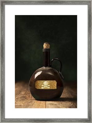 Poison Bottle Framed Print