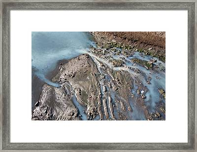 Polluted Waterway Framed Print by Ashley Cooper