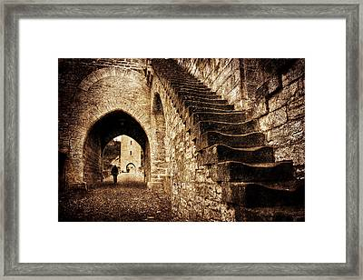 Framed Print featuring the photograph Pont Valentre / Cahors by Barry O Carroll