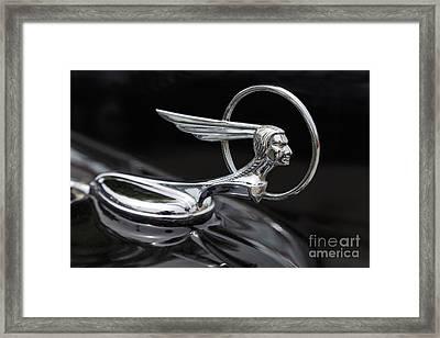 Pontiac Ornament Framed Print by Dennis Hedberg