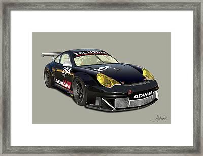 Porsche 996 Gt3 Rsr Framed Print