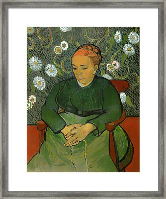 Portrait Of Madame Roulin Framed Print by Mountain Dreams