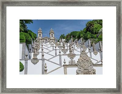 Portugal, Braga, Tenoes, Portuguese Framed Print by Emily Wilson