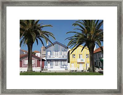 Portugal, Costa Nova,fisherman's Framed Print by Emily Wilson