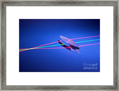 Positive Lens Framed Print by GIPhotostock