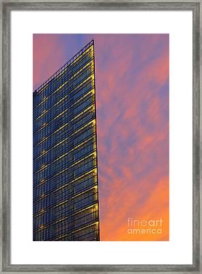 Potsdamerplatz Berlin Framed Print by Colin Woods