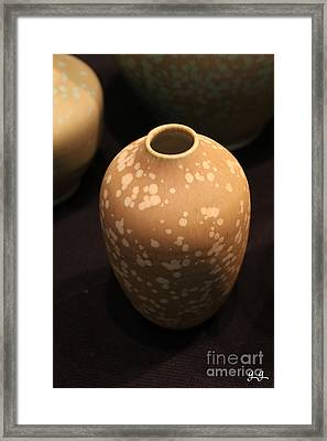 Framed Print featuring the photograph Potter's Pride by Geri Glavis