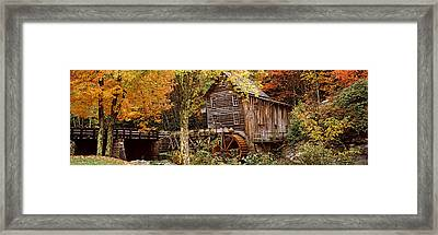 Power Station In A Forest, Glade Creek Framed Print by Panoramic Images
