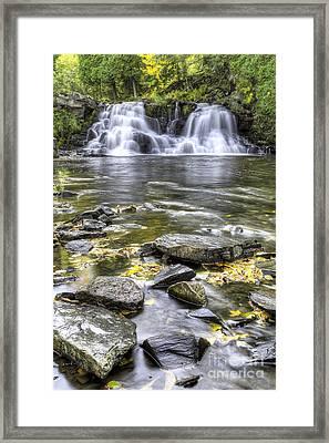 Powerhouse Falls Framed Print by Twenty Two North Photography