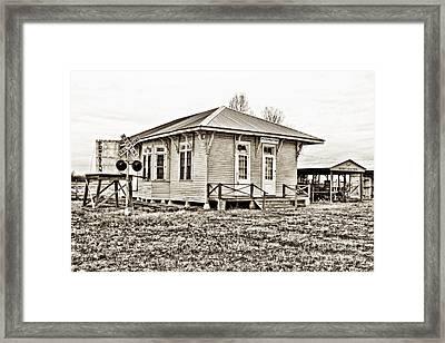 Powhatan Framed Print by Scott Pellegrin