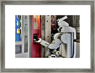 Pr2 Robot Research Framed Print by Patrick Landmann