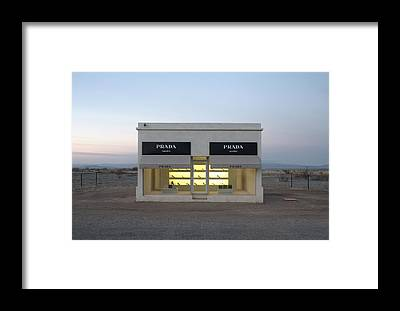 Storefront Framed Prints