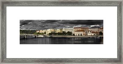 Prague Framed Print by Cecil Fuselier