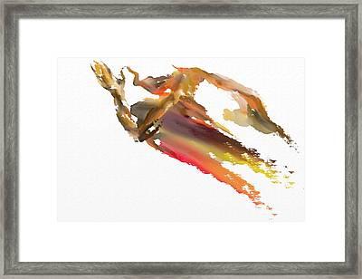 Pray Framed Print by Len YewHeng