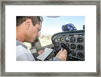 Preflight Check Framed Print