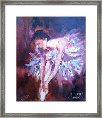 Framed Print featuring the painting Preparing To Enchant by Marcia Dutton