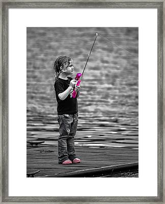 Pretty In Pink 2 Framed Print