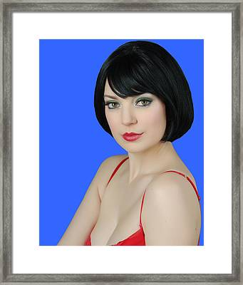 Pretty Woman Framed Print by Jim Poulos