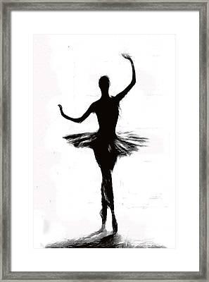 Prima Ballerina Framed Print by Steve K