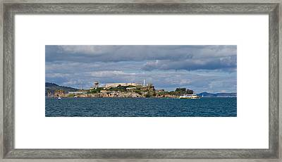 Prison On An Island, Alcatraz Island Framed Print by Panoramic Images