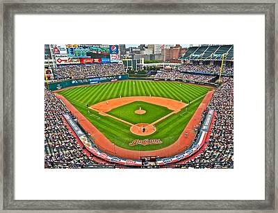 Progressive Field Framed Print by Frozen in Time Fine Art Photography