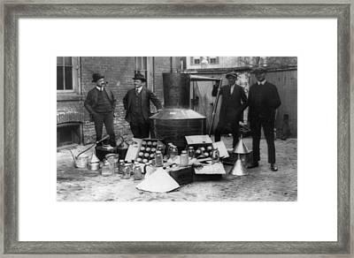 Prohibition, 1922 Framed Print