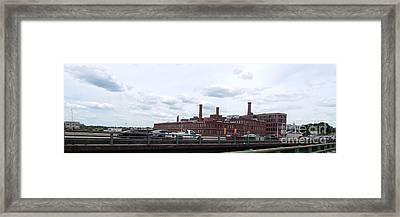 Providence Ri Framed Print by Bonnie Carter