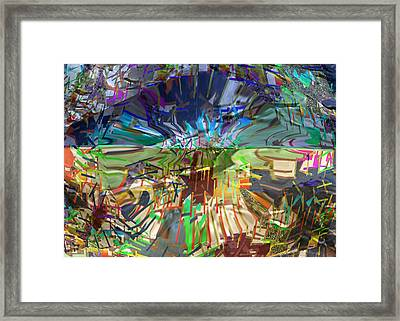 Pure Abstract View Carefully And Find Some Thing New Every Time Each Persons Imagination Is Unique Framed Print