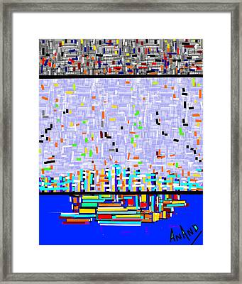 Pure Abstraction-2 Framed Print by Anand Swaroop Manchiraju