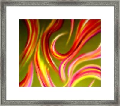 Pyromania Framed Print by Cyryn Fyrcyd