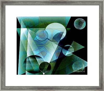 Quest Framed Print by Iris Gelbart