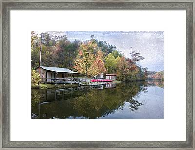 Quiet Day Framed Print by Cindy Rubin