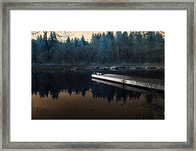 Framed Print featuring the photograph Quiet Moments Reading by Rebecca Parker