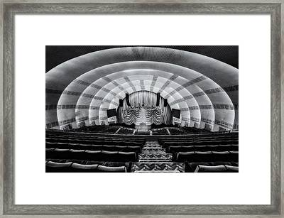 Radio City Music Hall Theatre Framed Print by Susan Candelario