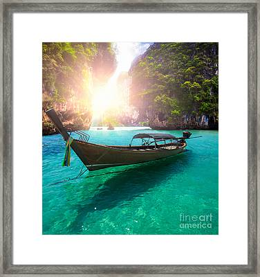 Railay Beach Framed Print