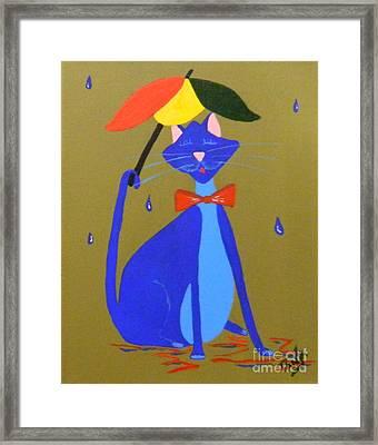 Rain Bow Framed Print